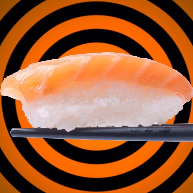 Download Sushi On Chopstick Royalty Free Stock Photos - Image: 28531488
