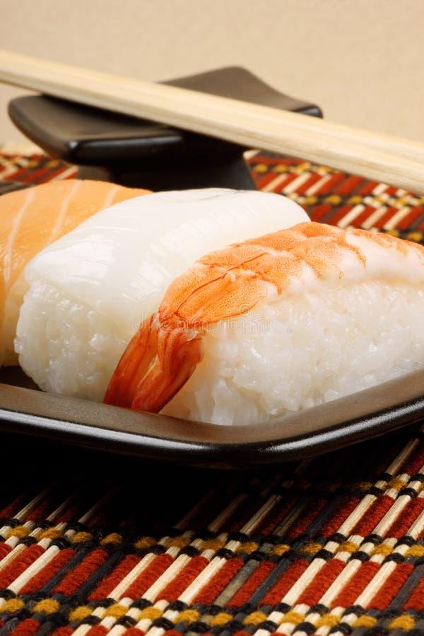 Sushi close-up stock photos