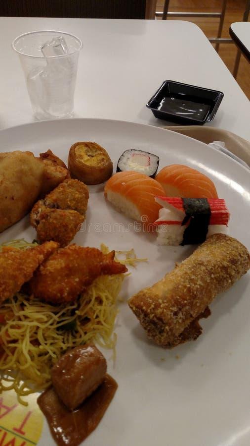 Sushi, comida imagen de archivo libre de regalías