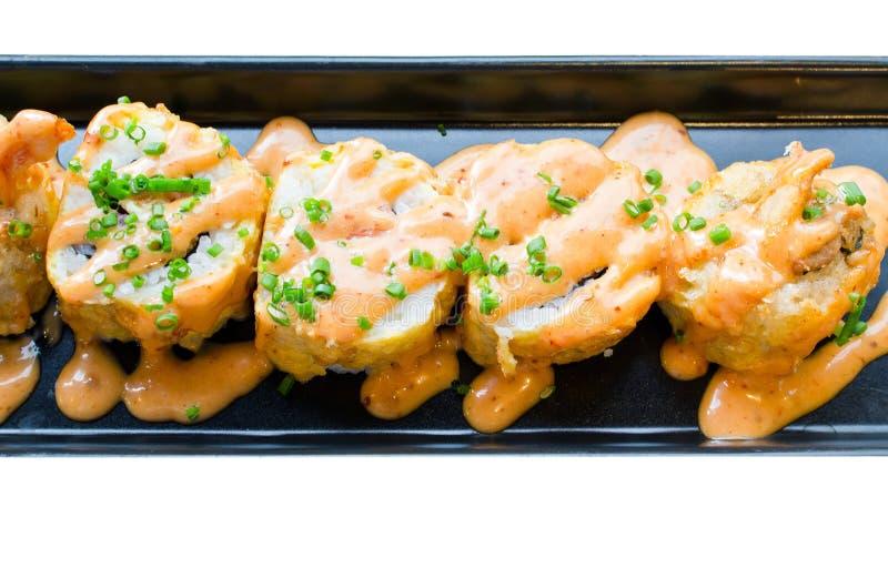 Sushi, comida japonesa fotografía de archivo