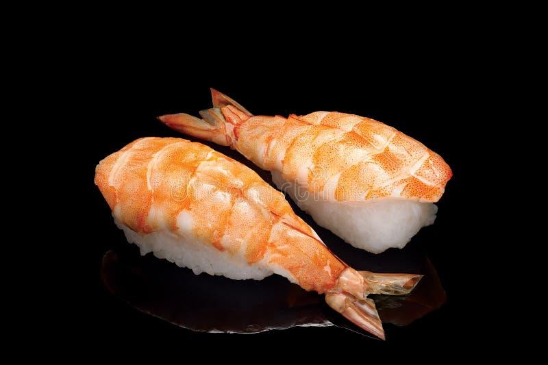 Sushi con gambero fotografia stock libera da diritti