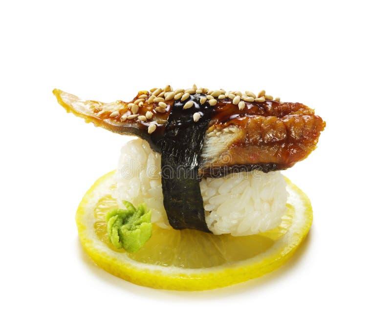 Sushi d'anguille photos libres de droits