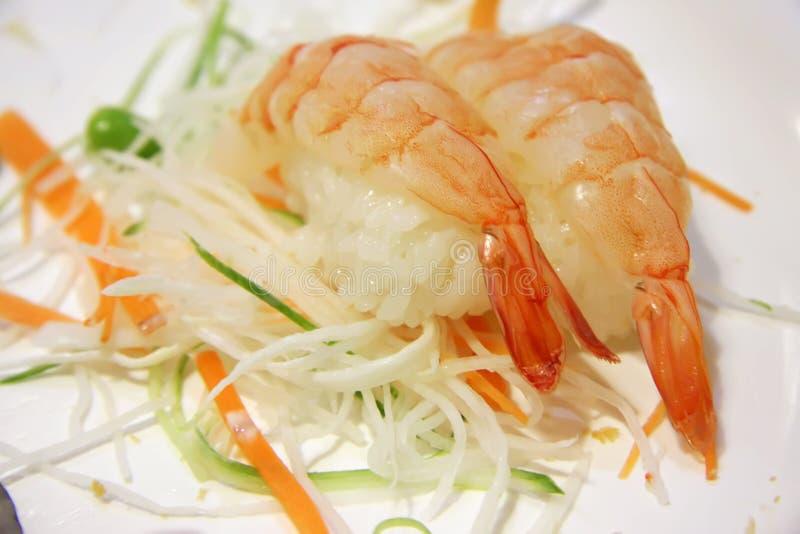 Sushi d'Ebi images stock