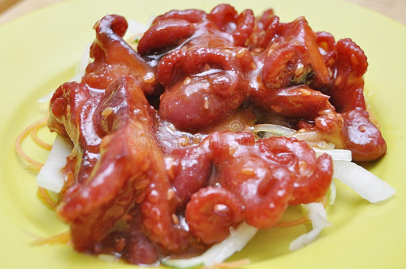 Sushi d'iidako de Chuka photos stock