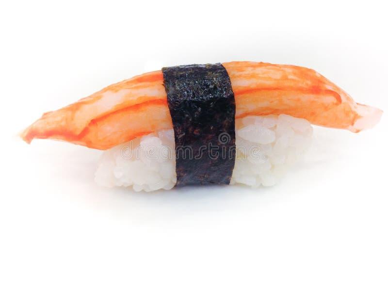 Sushi da vara do caranguejo fotografia de stock royalty free