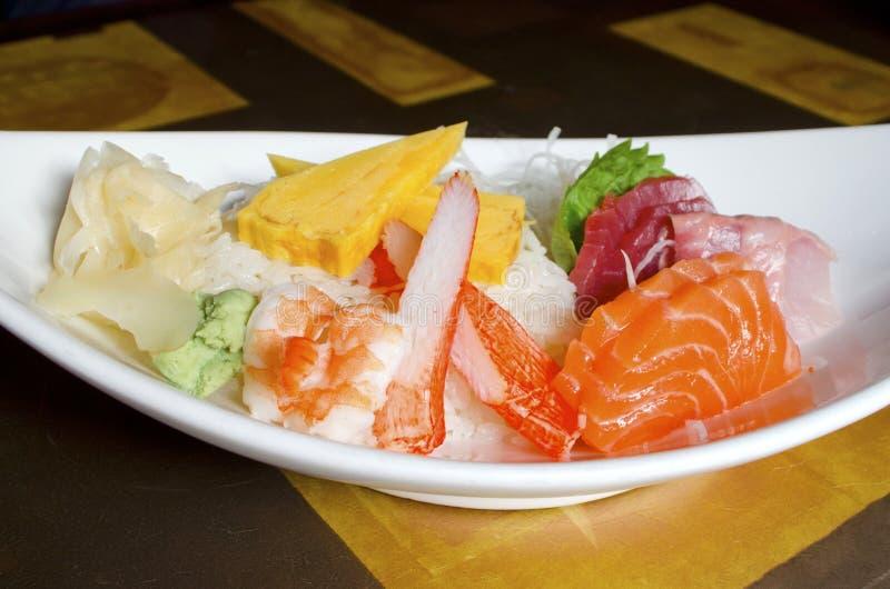 Sushi de Chirashi fotos de stock royalty free