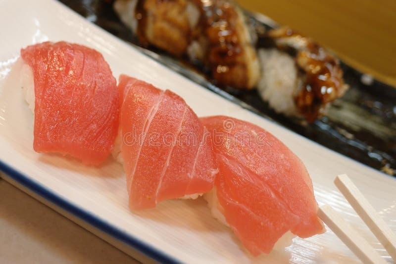 Sushi de dorade image libre de droits
