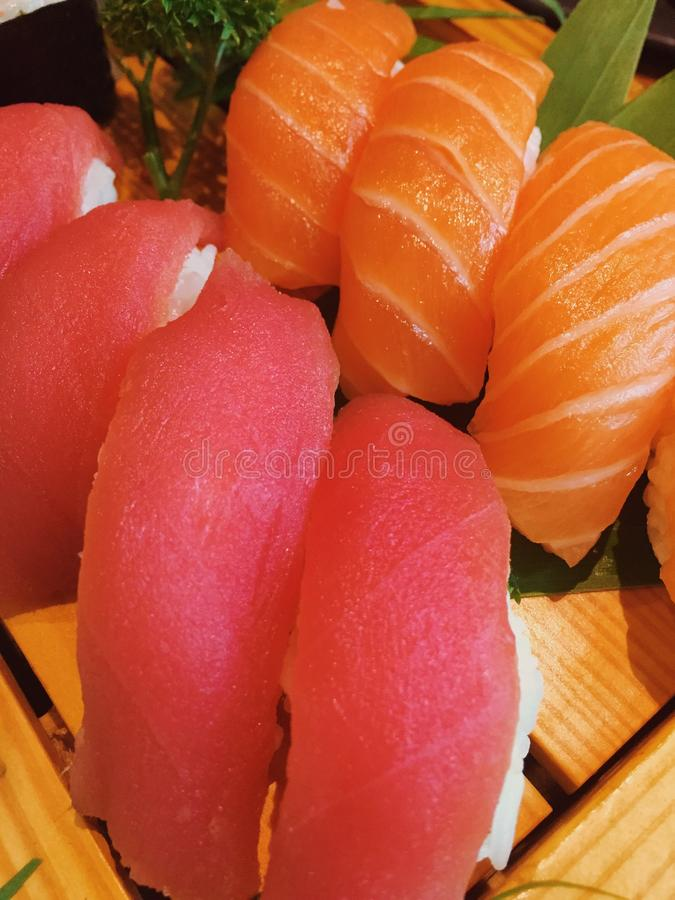 Sushi de Japão imagens de stock royalty free