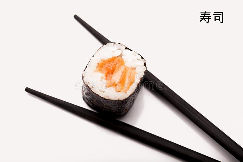 Sushi de salmones foto de archivo