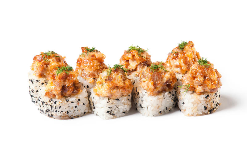 Sushi de Maki - rolo fotografia de stock