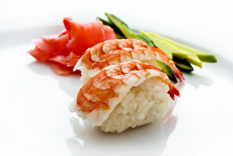 Sushi de Nigiri imagens de stock royalty free