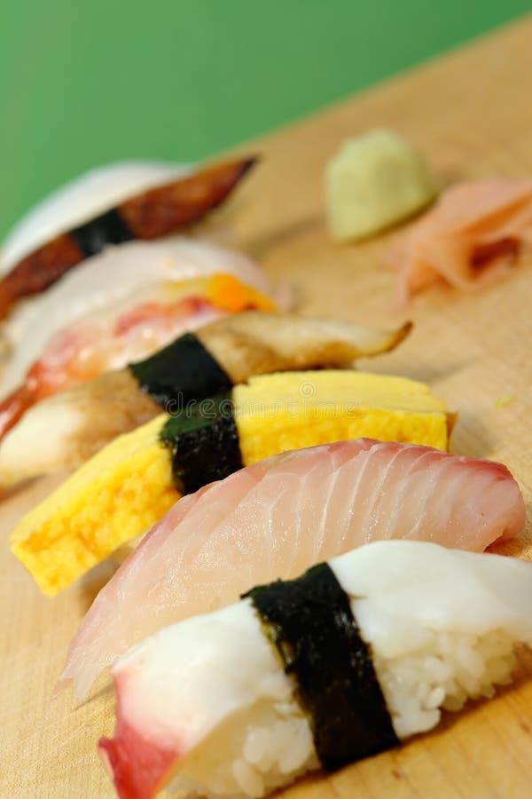Sushi de Nigiri imagem de stock