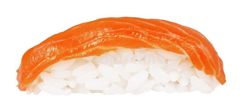 Sushi de Nigiri isolado no branco imagem de stock royalty free