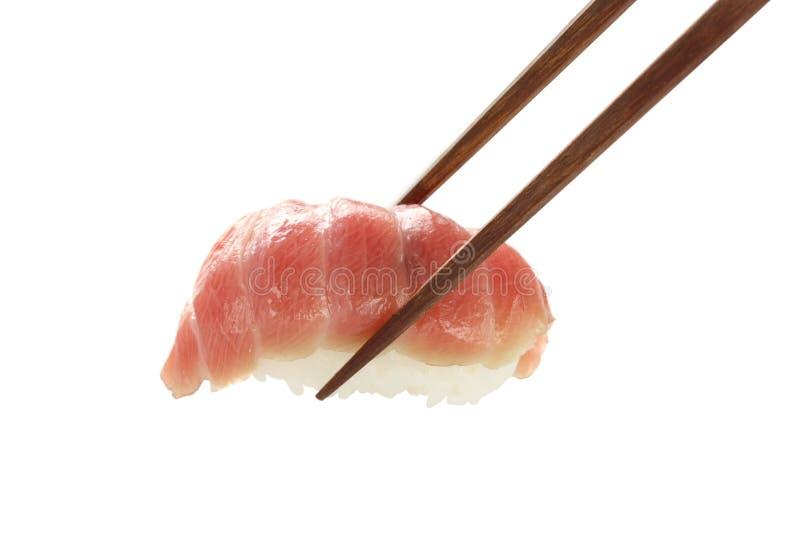 Sushi de Otoro, alimento japonês fotografia de stock