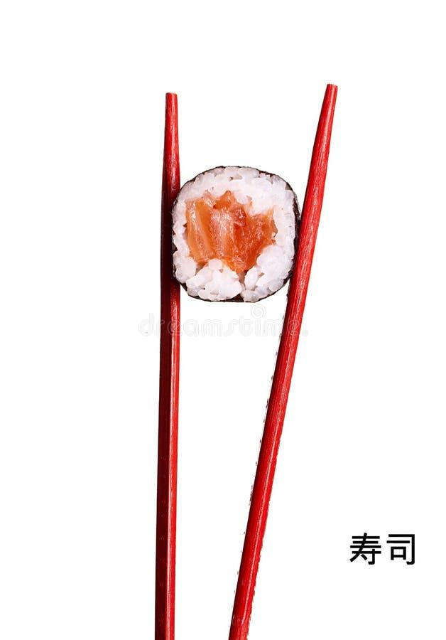 Sushi de salmones imagen de archivo libre de regalías