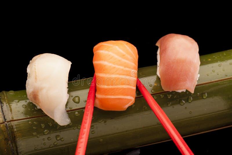 Sushi del camarón fotografía de archivo