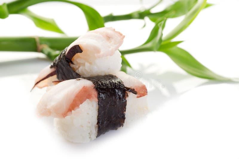 Sushi del pulpo foto de archivo
