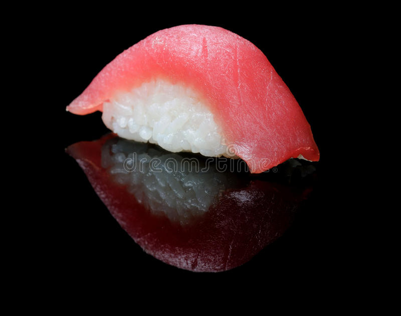 Sushi del tonno fotografia stock