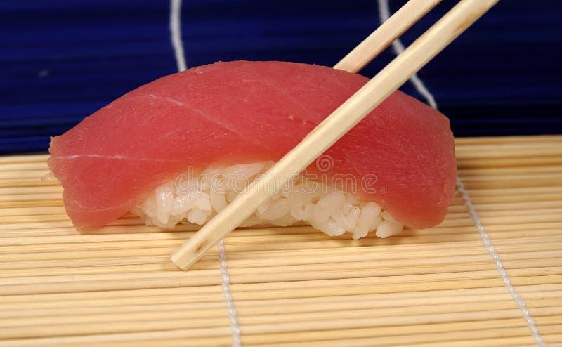 Sushi dello sgombro fotografie stock