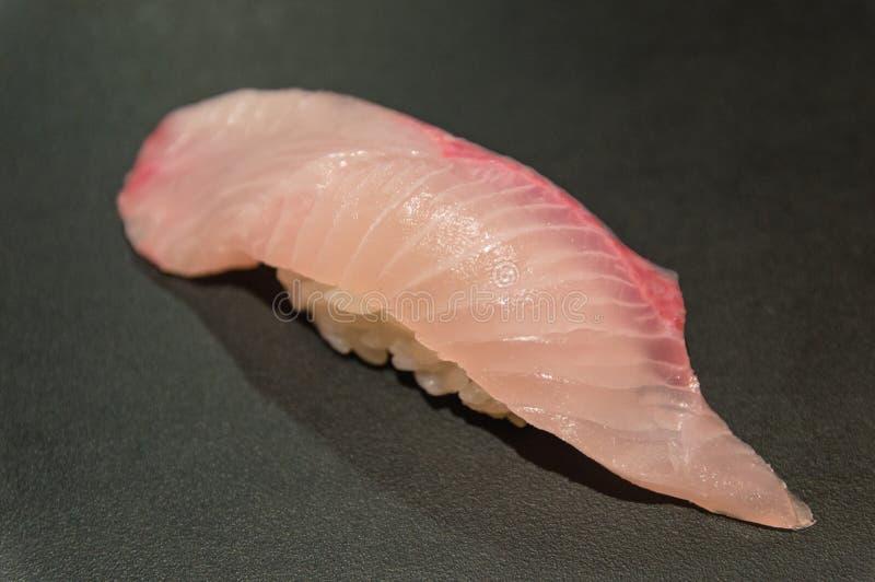 Sushi dello snapper fotografia stock libera da diritti