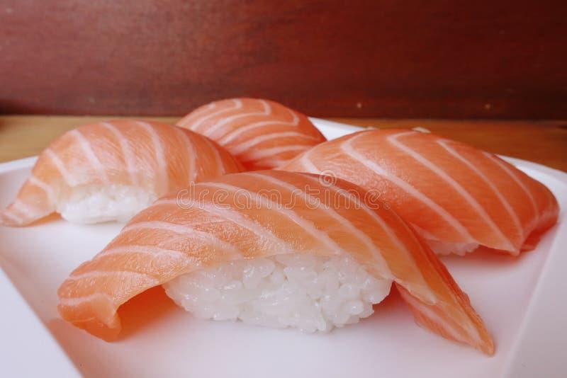 Sushi des saumons photos libres de droits
