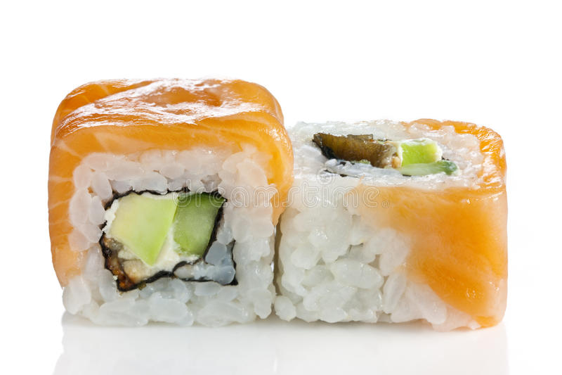Sushi di Maki - rullo immagini stock libere da diritti
