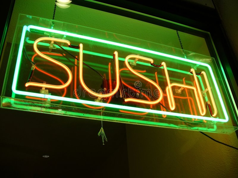 Download Sushi for Dinner stock image. Image of dining, hungry, night - 466229
