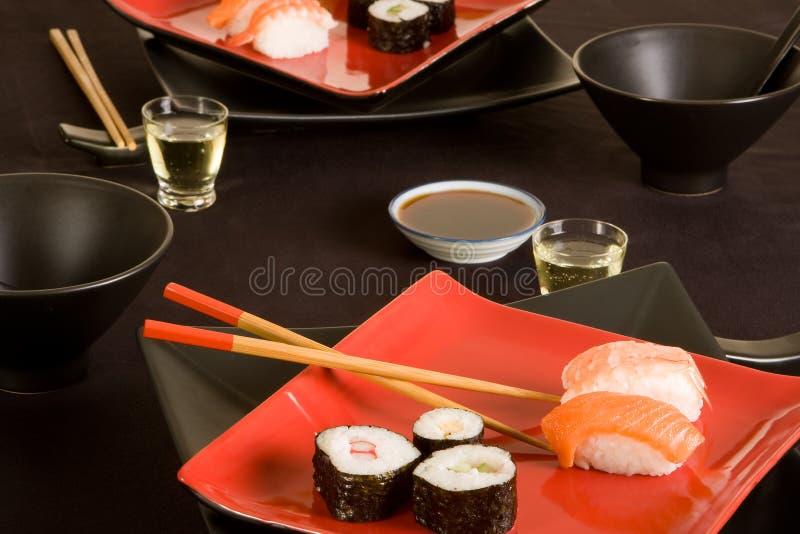 Sushi e causa imagem de stock royalty free