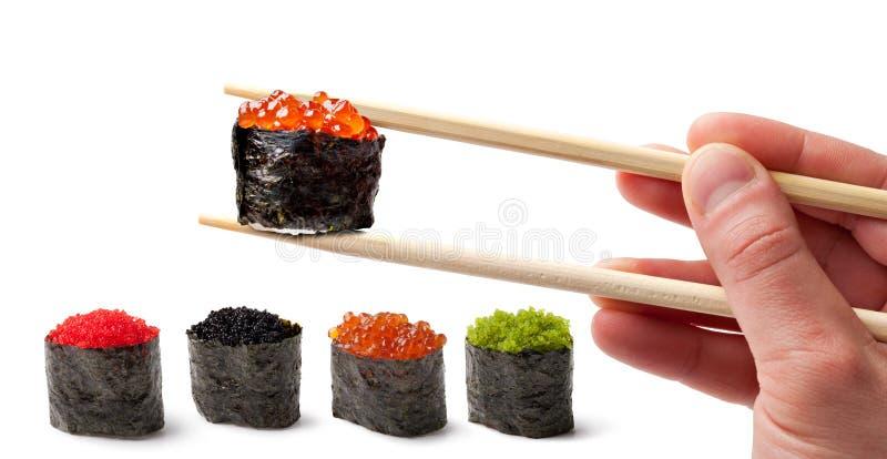 Sushi - Ebi Nigiri stock foto