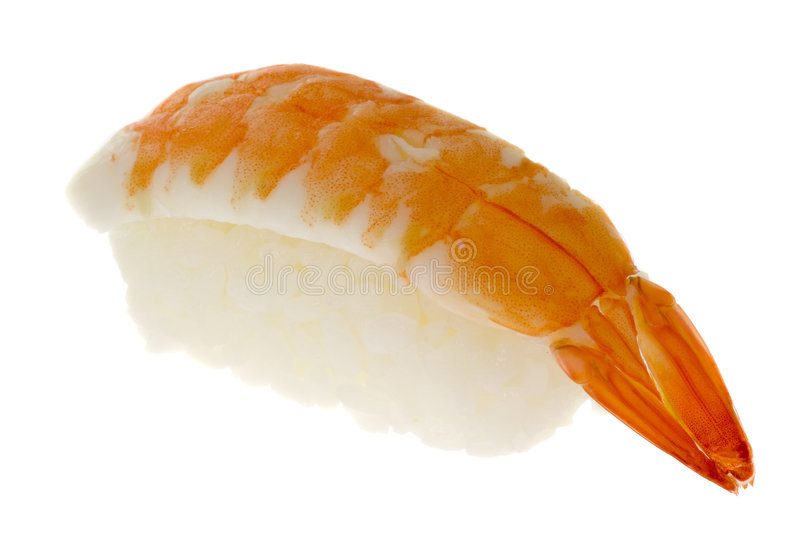 Download Sushi - Ebi Nigiri stock image. Image of white, japanese - 2738621