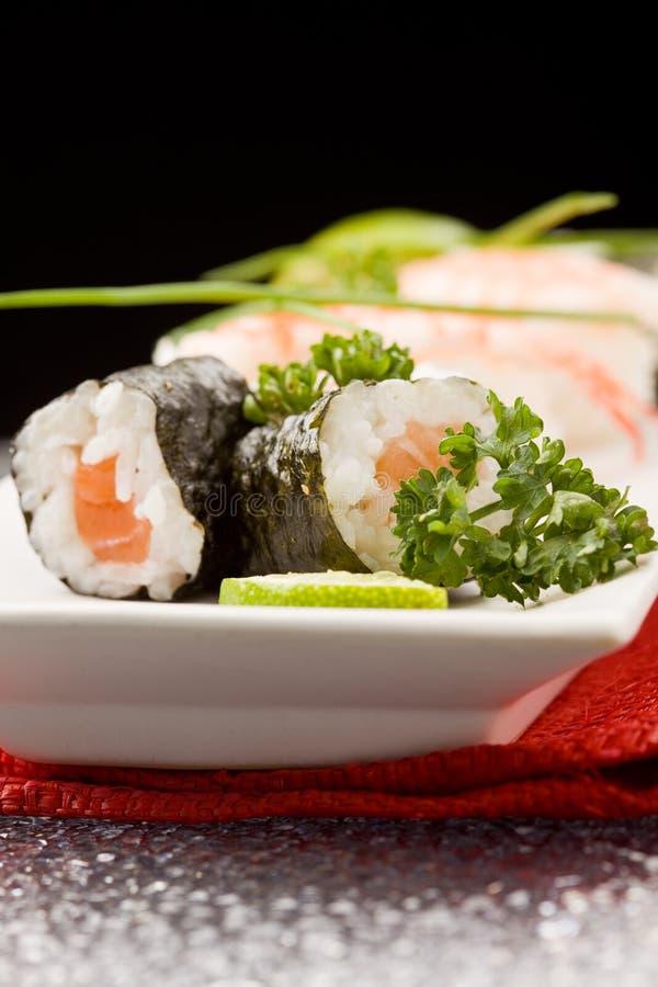 Sushi en Sashimi stock fotografie