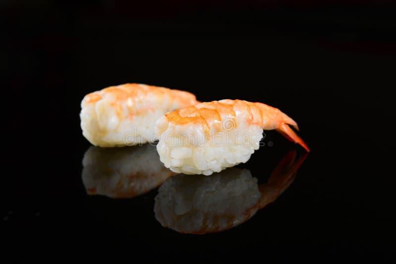 sushi för målnigiriserie royaltyfri fotografi