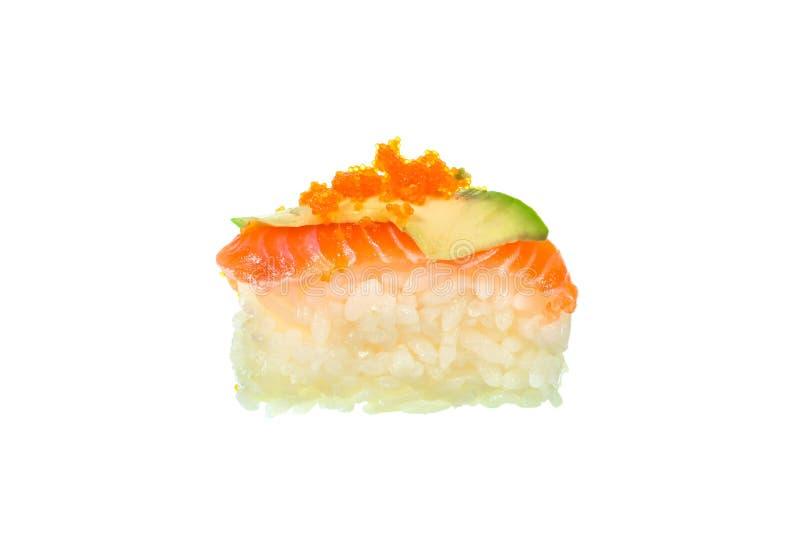 Download Sushi Freschi Su Priorità Bassa Bianca Fotografia Stock - Immagine di pasto, isolato: 55365046
