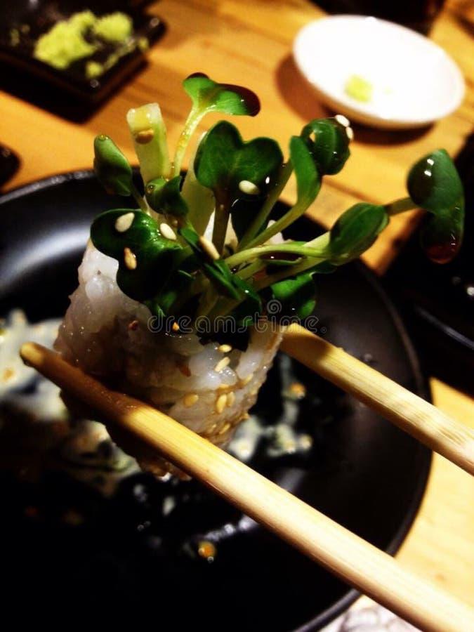 Sushi Gezond voedsel stock afbeelding