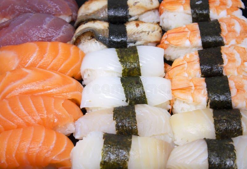 Sushi. Japanese Food royalty free stock photo