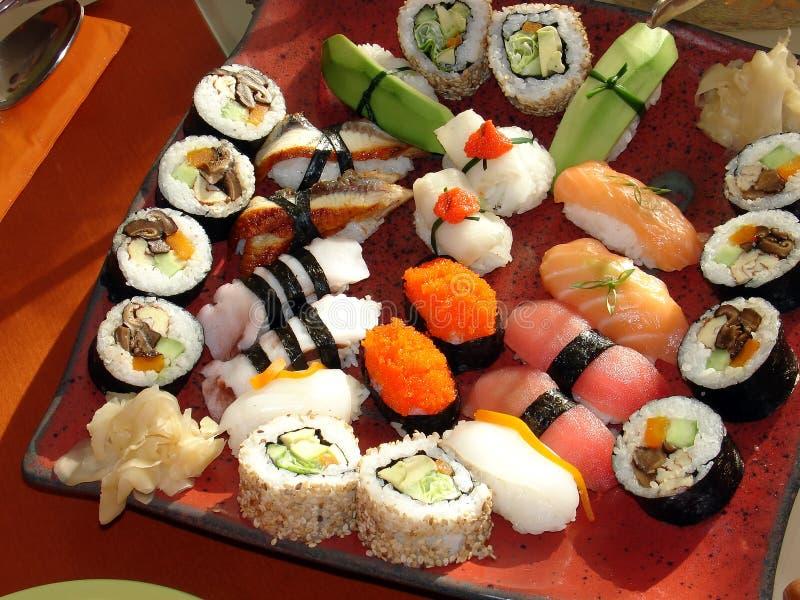 Sushi japonés 1 foto de archivo