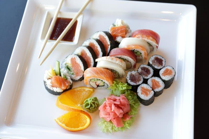 Sushi japonais photographie stock