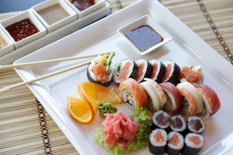 Sushi japonais photo libre de droits