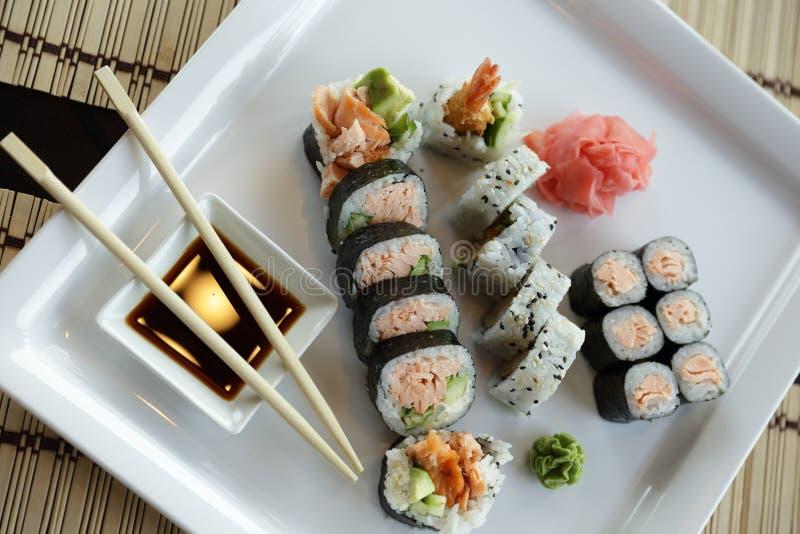 Sushi japonais images libres de droits