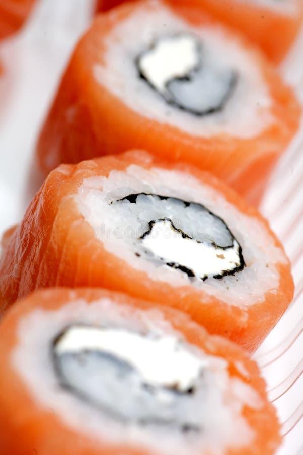 Sushi japonais classiques de nourriture photos libres de droits