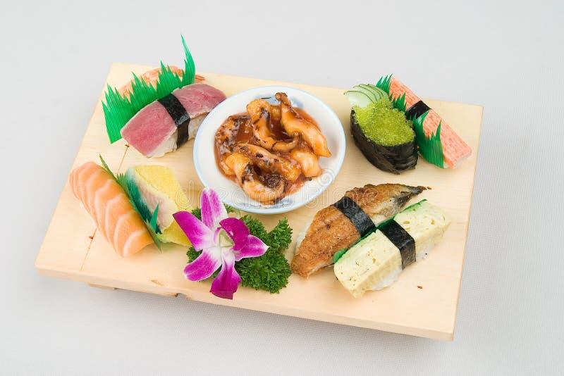 Sushi japonais de nourriture photos libres de droits