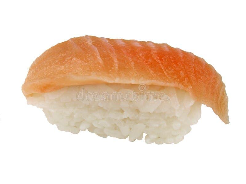 Sushi jaunes d'ailette image stock