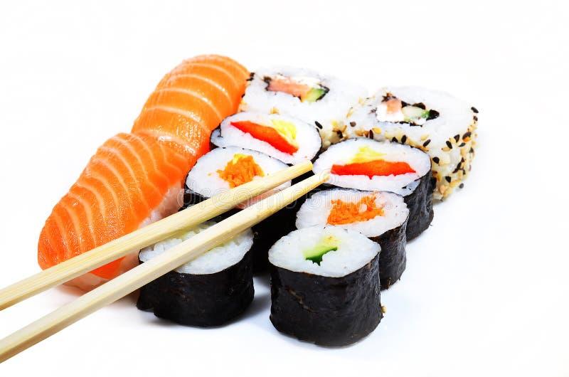 Sushi-Mahlzeit stockfotos