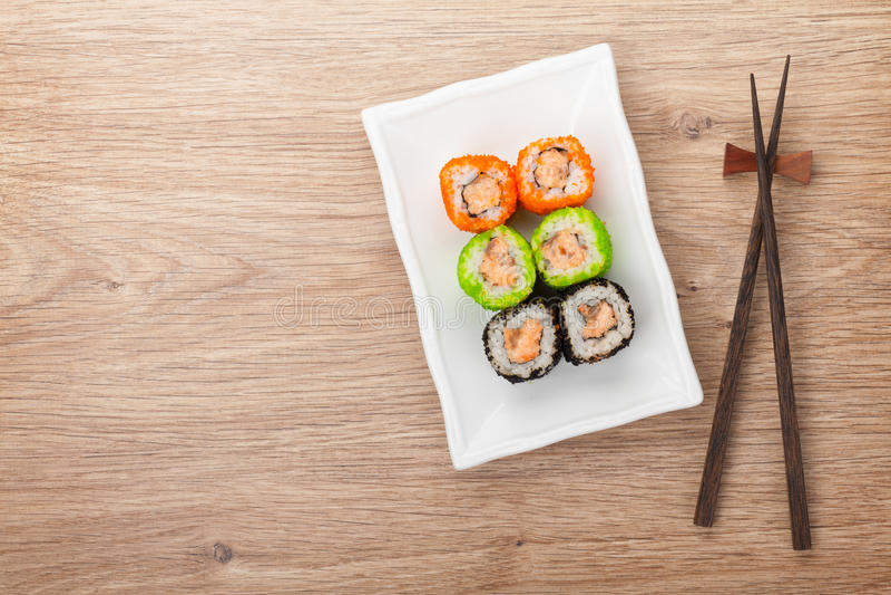 Sushi Maki stockfotos
