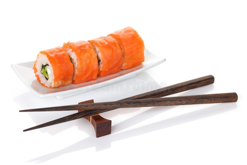 Sushi Maki royaltyfri fotografi