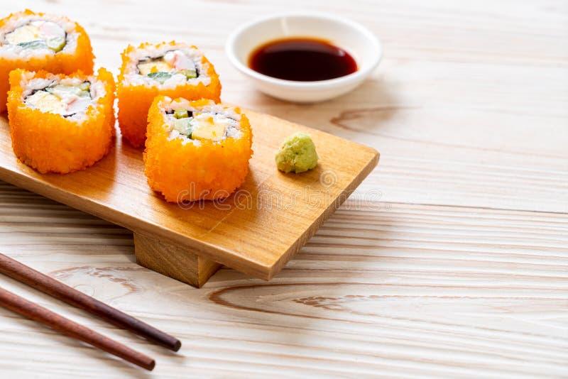 sushi maki roll fotografia stock libera da diritti