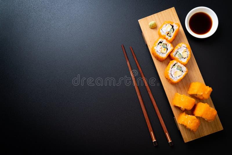 sushi maki roll immagini stock