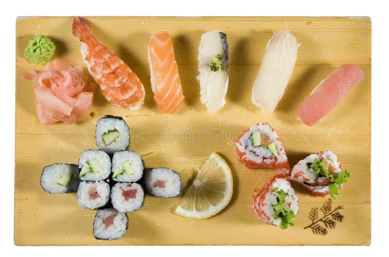 Sushi and Maki Sushi Combination
