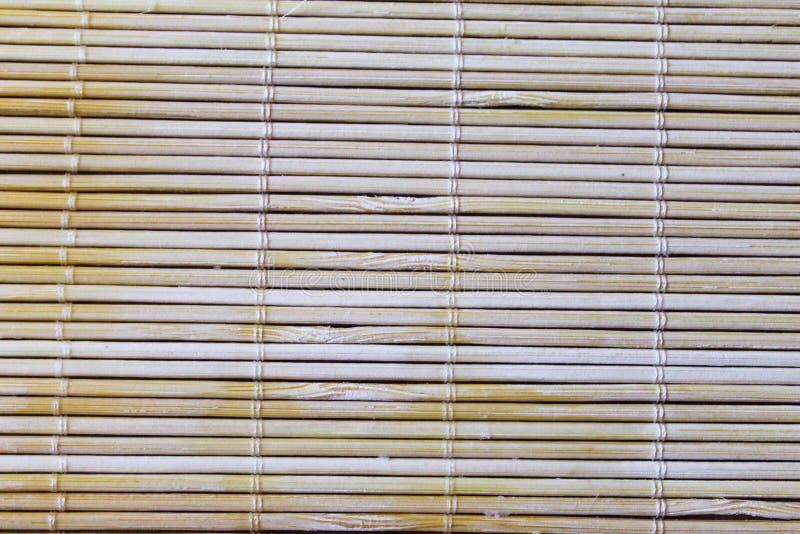 Sushi Mat Detail Background photos libres de droits