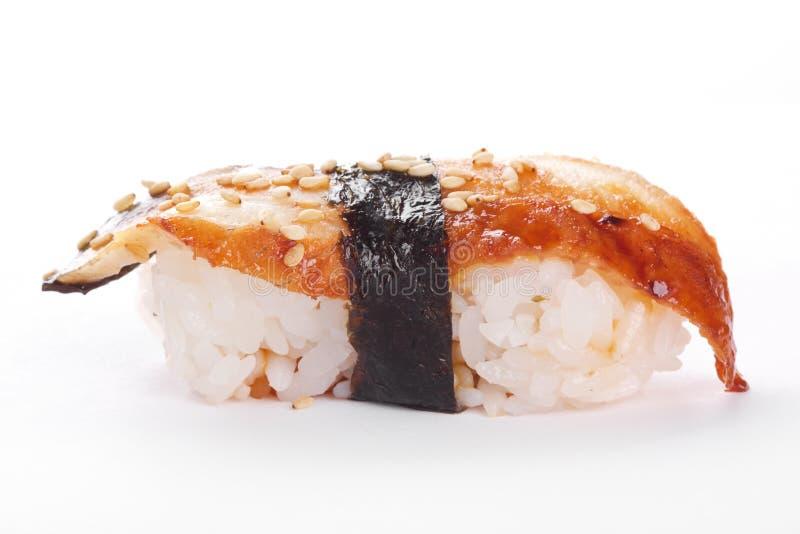 Sushi met meeëter royalty-vrije stock fotografie